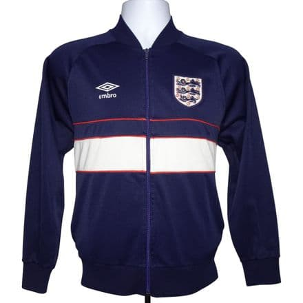 1984-85 England Tracksuit Jacket Umbro Small (Excellent Condition)